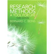 Research Methods A Tool for Life by Beins, Bernard C., 9780205899531