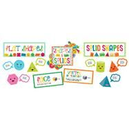 School Pop Shapes and Solids Bulletin Board Set by Carson-Dellosa Publishing Company, Inc., 9781483829531