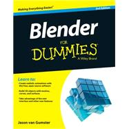 Blender for Dummies by Van Gumster, Jason, 9781119039532