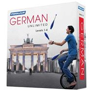 Pimsleur German Unlimited, Levels 1-4 by Pimsleur, 9781442369535