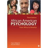 African American Psychology : From Africa to America by Belgrave, Faye Z.; Allison, Kevin W., 9781412999540