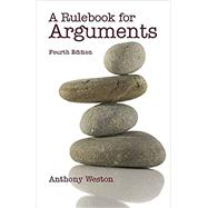 A Rulebook for Arguments by Weston, Anthony, 9780872209541