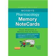 Mosby's Pharmacology Memory Notecards by Zerwekh, JoAnn, R. N.; Claborn, Jo Carol, R.N., 9780323289542