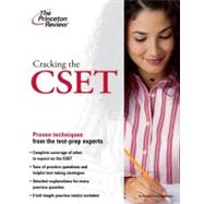 Cracking the Cset by PRINCETON REVIEW, 9780375429545