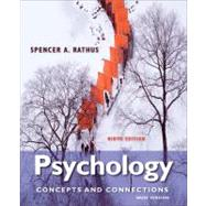 Psychology Concepts & Connections, Brief Version by Rathus, Spencer A., 9781133049548