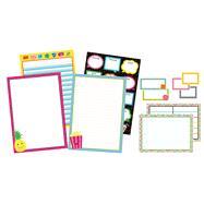 School Pop Classroom Organizers Bulletin Board Set by Carson-Dellosa Publishing Company, Inc., 9781483829548
