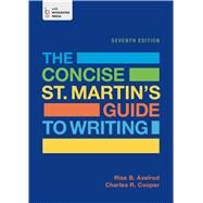 The Concise St. Martin's Guide to Writing by Axelrod, Rise B.; Cooper, Charles R., 9781457669552