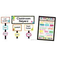 School Pop Classroom Management Bulletin Board Set by Carson-Dellosa Publishing Company, Inc., 9781483829555