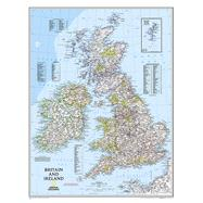 Britain and Ireland Classic by National Geographic Maps, 9780792249559