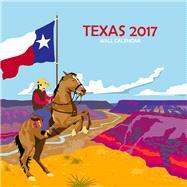 Texas 2017 Calendar by Dry Climate Studios, 9780990819561