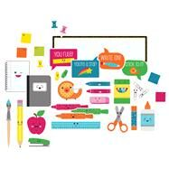 School Pop School Tools Mini Bulletin Board Set by Carson-Dellosa Publishing Company, Inc., 9781483829562