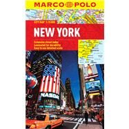 Marco Polo City Map New York by Various Map Artist, 9783829769563