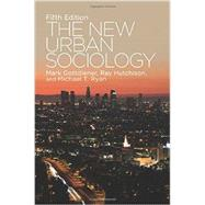 The New Urban Sociology by Hutchison,Ray, 9780813349565
