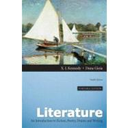 Literature An Introduction to Fiction, Poetry, Drama, and Writing, Portable Edition by Kennedy, X. J.; Gioia, Dana, 9780205229567