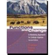 Functions And Change by Crauder, Bruce; Evans, Benny; Noell, Alan, 9780618219568