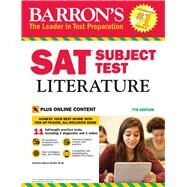 Barron's Sat Subject Test Literature by Myers-Shaffer, Christina, 9781438009568