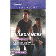 Allegiances by Eden, Cynthia, 9780373749577