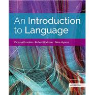 An Introduction to Language by Fromkin/Rodman/Hyams, 9781337559577