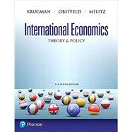 International Economics: Theory and Policy, 11/e by Krugman; Obstfeld; Melitz, 9780134519579