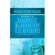 Mosby's Diagnostic and Laboratory Test Reference by Pagana, Kathleen Deska Ph.D., RN, 9780323399579