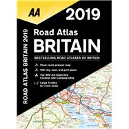 2019 Road Atlas Britain by Automobile Association (Great Britain), 9780749579579