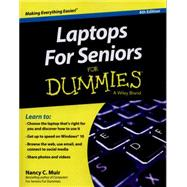 Laptops for Seniors for Dummies by Muir, Nancy C., 9781119049579
