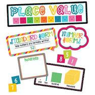 School Pop Place Value Mini Bulletin Board Set by Carson-Dellosa Publishing Company, Inc., 9781483829579