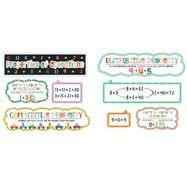 School Pop Properties of Operations Mini Bulletin Board Set by Carson-Dellosa Publishing Company, Inc., 9781483829586