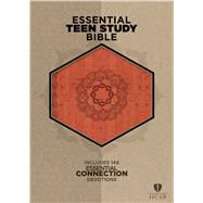 The HCSB Essential Teen Study Bible, Orange Cork LeatherTouch by Unknown, 9781433619588