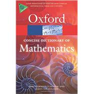 The Concise Oxford Dictionary of Mathematics by Clapham, Christopher; Nicholson, James, 9780199679591