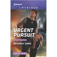 Urgent Pursuit by Long, Beverly, 9780373749591