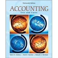 Accounting: Texts and Cases by Anthony, Robert; Hawkins, David; Merchant, Kenneth A., 9780073379593