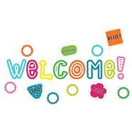 School Pop Welcome Mini Bulletin Board Set by Carson-Dellosa Publishing Company, Inc., 9781483829593