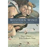 Western Wind:  An Introduction to Poetry by Mason, David; Nims, John Frederick, 9780072819595