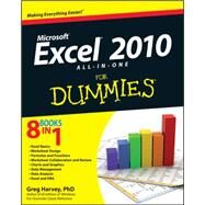 Micrososft Excel 2010 All-in-One for Dummies® by Harvey, Greg, 9780470489598