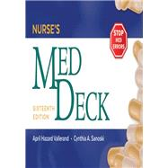 Nurse's Med Deck by Vallerand, April Hazard; Sanoski, Cynthia A., 9780803669598