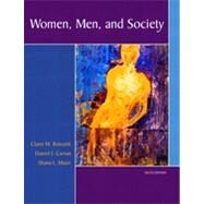 Women, Men, and Society by Renzetti, Claire M.; Curran, Daniel J.; Maier, Shana L., 9780205459599
