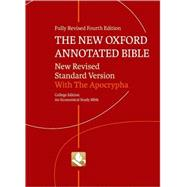 The New Oxford Annotated Bible with Apocrypha New Revised Standard Version by Unknown, 9780195289602