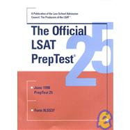 The Official Lsat Preotest 25: June 1998 Preptest 25 by Unknown, 9780942639605