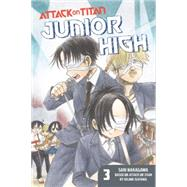 Attack on Titan: Junior High 3 by ISAYAMA, HAJIMENAKAGAWA, SAKI, 9781612629612