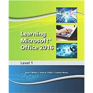 Learning Microsoft Office 2016 Level 1 SE + Level 1 eCourse Access Code 9780134849614N