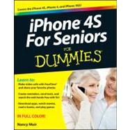 Iphone 4s for Seniors for Dummies by Muir, Nancy C., 9781118209615
