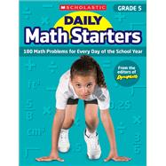 Daily Math Starters: Grade 5 180 Math Problems for Every Day of the School Year by Krech, Bob, 9781338159622