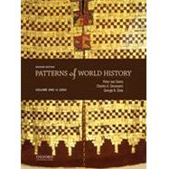 Patterns of World History Volume One: To 1600 by von Sivers, Peter; Desnoyers, Charles A.; Stow, George B., 9780199399628