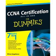 CCNA Certification All-In-One For Dummies by Angelescu, Silviu, 9780470489628