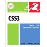 CSS3 Visual QuickStart Guide by Teague, Jason Cranford, 9780321719638