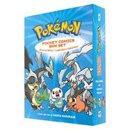 Pokemon Pocket Comics Box Set Black & White / Legendary Pokemon by Harukaze, Santa, 9781421589640