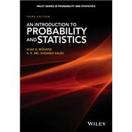An Introduction to Probability and Statistics by Rohatgi, Vijay K.; Saleh , A.k. MD. Ehsanes, 9781118799642