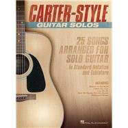 Carter-Style Guitar Solos by Hal Leonard Publishing Corporation, 9781495009655