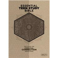 The NKJV Essential Teen Study Bible, Gray Cork LeatherTouch by Unknown, 9781433619656